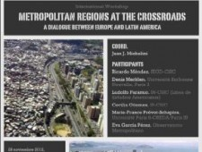 """Metropolitan Regions at the Crossroads – A dialogue between Europe and Latin America""."