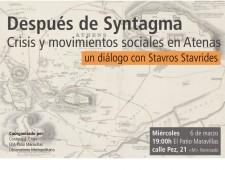 Después de Syntagma: crisis y movimientos sociales en Atenas