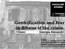 Gentrification and fear in Athens of the crisis