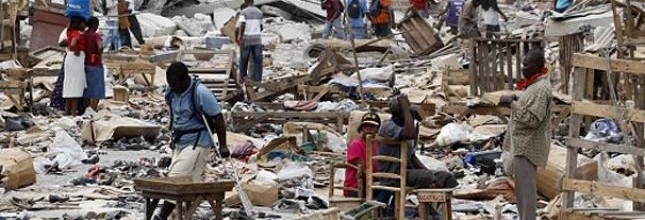 Haití: de los campamentos a los barrios