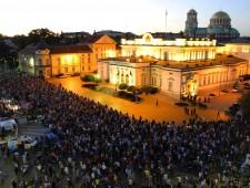 La ciudad y las protestas en Sofía – entre lo cotidiano y lo extraordinario