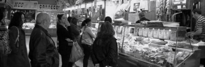 Tres mercados en una ciudad
