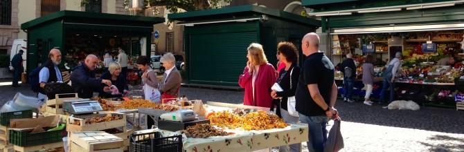 Espacios públicos, encuentros y comida
