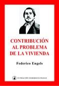 """Portada del libro """"Contribución al problema de la vivienda"""", de Federico Engels."""