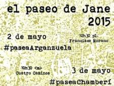 Paseo de Jane 2015 por los distritos de Chamberí y Tetuán
