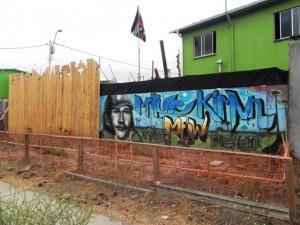 Foto 3: Conjunto de vivienda mapuche Villa Bicentenario, Comuna de Cerro Navia. Fuente: X. Fuster