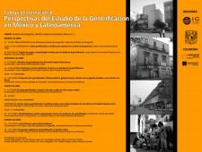 Coloquio Internacional. Perspectivas del Estudio de la Gentrificación en México y Latinoamérica