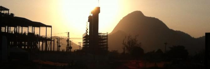 Paisaje en trance 2: Foto-ensayo de la remoción para las olimpiadas de Rio 2016