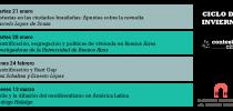 CICLO DE INVIERNO – programa