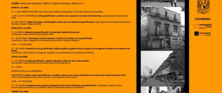 Gentrificación en México y Latinoamérica