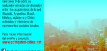 2do Seminario Internacional Contested_Cities