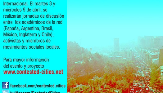 2do Seminario Internacional Contested_Cities