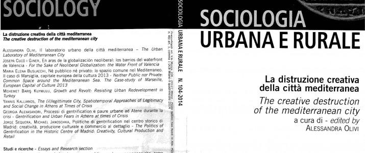 La distribuzione creativa della città mediterranea