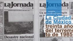 La Ciudad de México a treinta años del terremoto de 1985